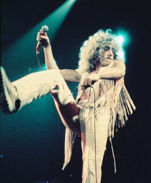The Who Roger Daltrey 8x10 Photograph
