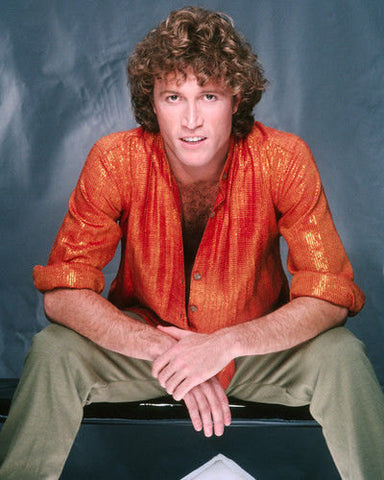 Andy Gibb Blue Orange Shirt Shirt 8x10 Photograph