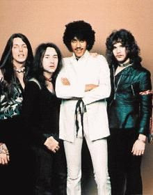 Thin Lizzy Band Color 8x10 Photograph