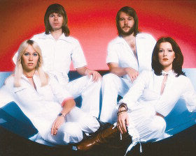 Abba Band Color 8x10 Photograph