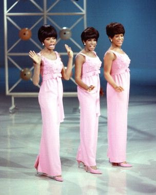 Diana Ross And The Supremes Color 8x10 Photograph