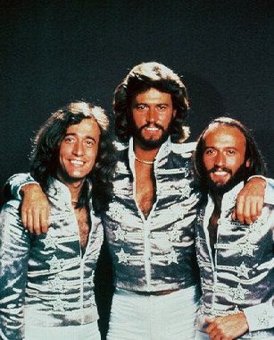 The Bee Gees Color 8x10 Photograph