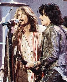 Aerosmith Steven Tyler Joe Perry Color 8x10 Photograph