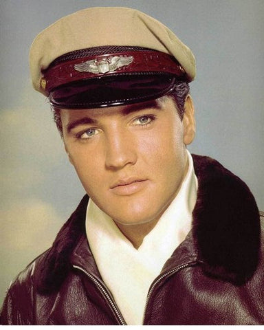 Elvis Presley Pilot Uniform 8x10 Photograph