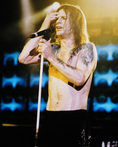 Ozzy Osbourne Live Color 8x10 Photograph