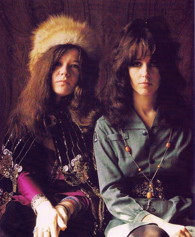 Janis Joplin and Grace Slick 8x10 Photograph
