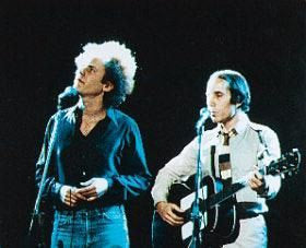 Simon and Garfunkel Live Color 8x10 Photograph