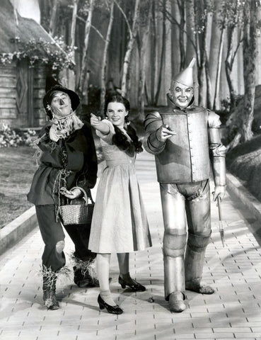 Wizard Of Oz Yellow Brick Road B/W 8x10 Photograph