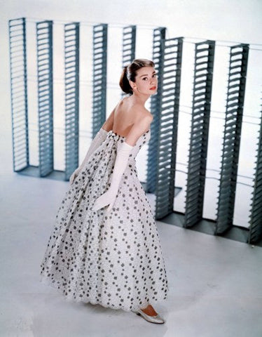 Audrey Hepburn Shutters Color  8x10 Photograph
