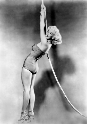 Marilyn Monroe Hanging From Rope 8x10 Photograph