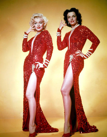 Marilyn Monroe And Jane Russell 8x10 Photograph
