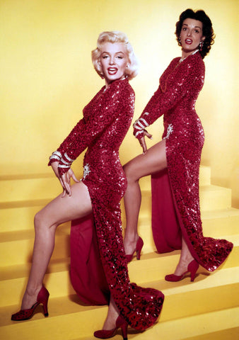Jane Russell and Marilyn Monroe 8x10 Photograph