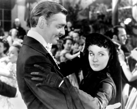 Gone With The Wind Vivien Leigh and Clark Gable Dancing 8x10 Photograph