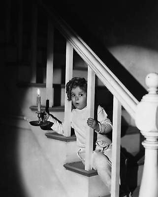 Shirley Temple White Staircase  8x10 Photograph
