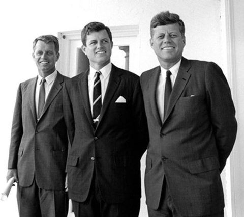 The Kennedy Brothers John F Kennedy Ted Kennedy Robert Kennedy 8x10 Photograph