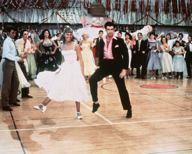 Grease John Travolta And Olivia Newton John Color   8x10 Photograph