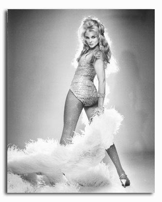 Ann Margret Feather Boa B/W  8x10 Photograph
