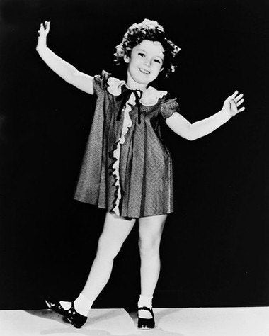 Shirley Temple Dancing  8x10 Photograph