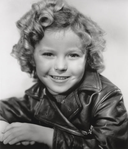 Shirley Temple Leather Jacket  8x10 Photograph