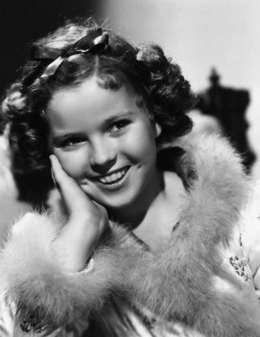 Shirley Temple Fur Jacket  8x10 Photograph