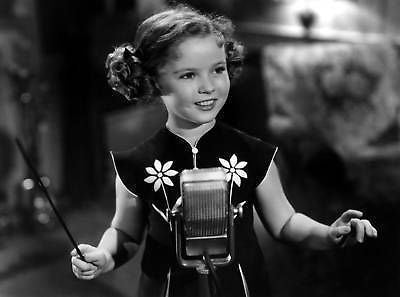 Shirley Temple Band Leader 8x10 Photograph