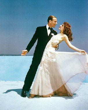 Fred Astaire And Rita Hayworth 8x10 Photograph