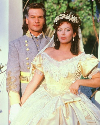 North And South Patrick Swayze and Lesley Ann Down  8x10 Photograph