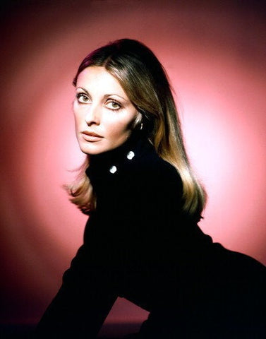 Sharon Tate Black Top  8x10 Photograph