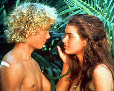 Blue Lagoon Brooke Shields and Christopher Atkins 8x10 Photograph