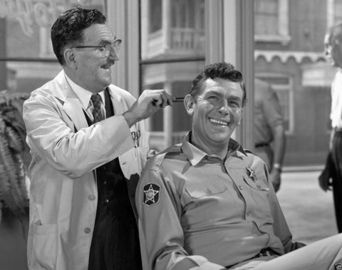 Andy Griffith and Floyd The Barber 8x10 Photograph