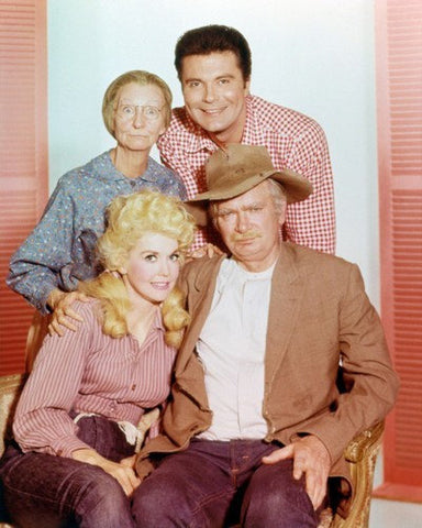 Beverly Hillbillies Buddy Ebsen Max Baer Jr. Donna Douglas Irene Ryan  8x10 Photograph