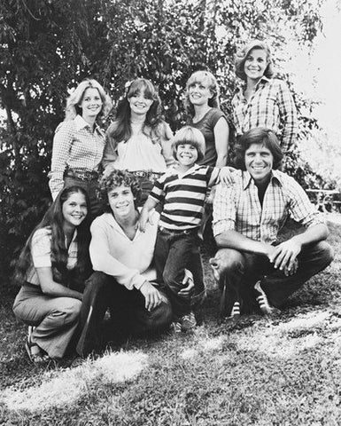Eight Is Enough  B/W  8x10 Photograph