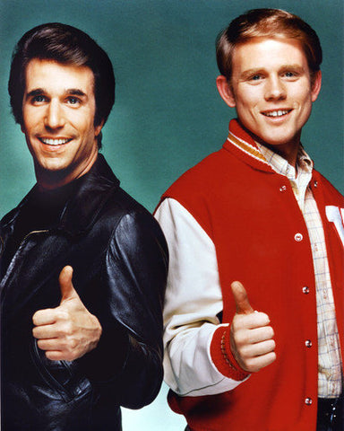 Happy Days Ron Howard Henry Winkler 8x10 Photograph