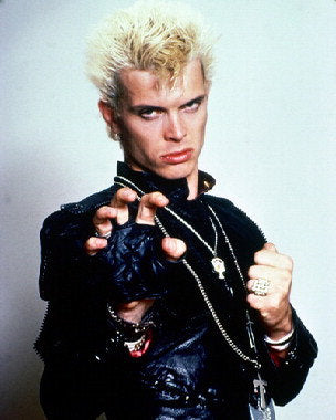 Billy Idol Black Leather  8x10 Photograph
