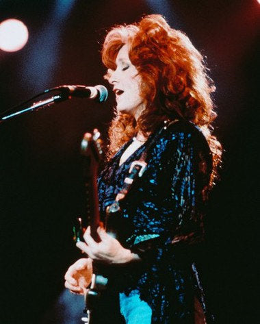Bonnie Raitt Live On Stage Color 8x10 Photograph