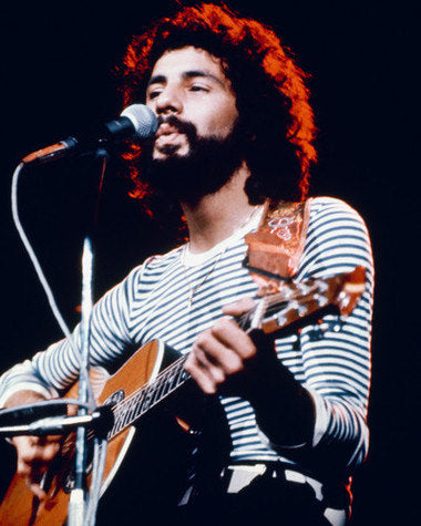 Cat Stevens Live On Stage Color 8x10 Photograph