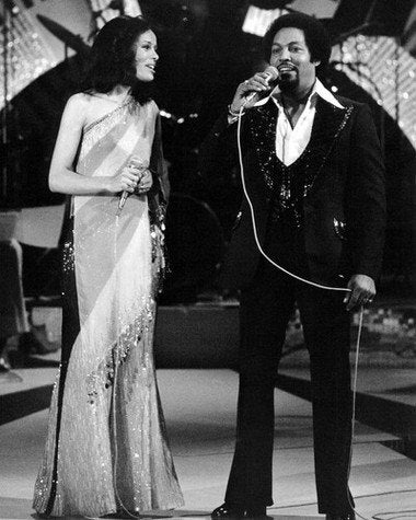 Marilyn McCoo and Billy Davis Jr B/W 8x10 Photograph