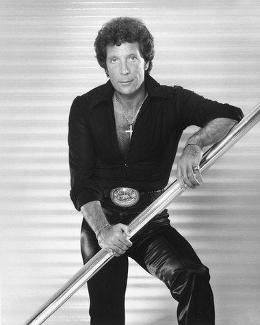 Tom Jones B/W 8x10 Photograph