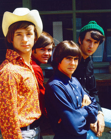 The Monkees Davy Jones Peter Tork, Micky Dolenz and Michael Nesmith 8x10 Photograph