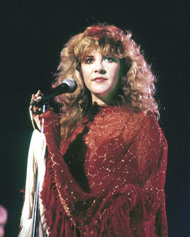 Stevie Nicks Fleetwood Mac Live On Stage  Color 8x10 Photograph