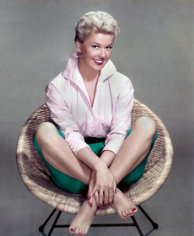 Doris Day Green Shorts Color 8x10 Photograph