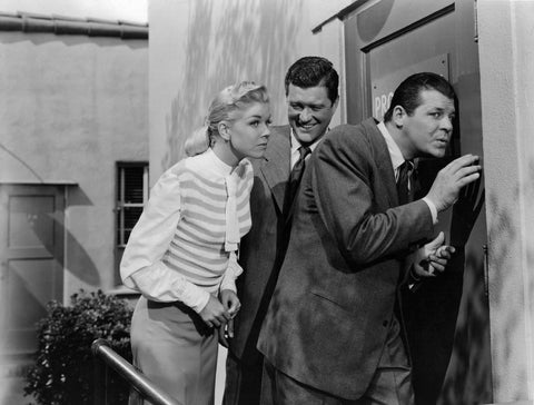 Doris Day  Jack Carson Dennis Morgan It's A Great Feeling B/W 8x10 Photograph