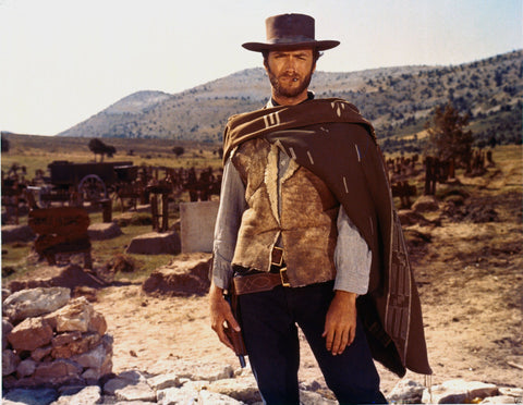 Clint Eastwood The Good The Bad And The Ugly  8x10 Photograph