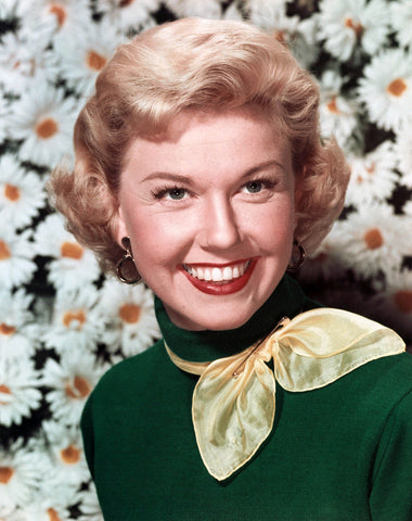 Doris Day Green Sweater Color 8x10 Photograph