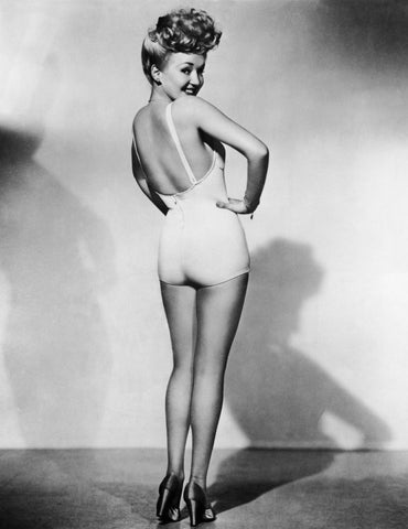 Betty Grable Girl With The Million Dollar Legs B/W 8x10 Photograph