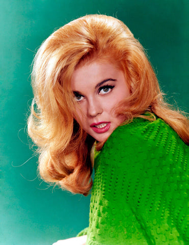 Ann Margret Green Sweater Color 8x10 Photograph