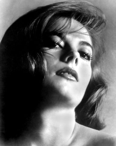 Natalie Wood Close Up B/W  8x10 Photograph