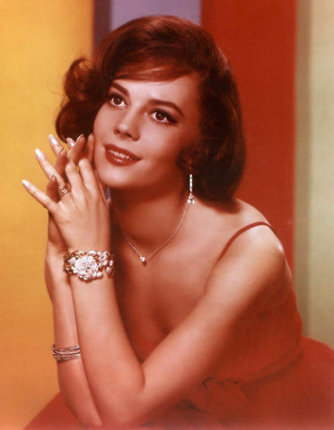 Natalie Wood Red Dress Color  8x10 Photograph