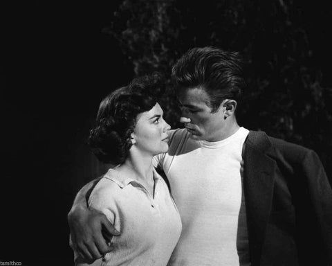 Natalie Wood  And James Dean B/W 8x10 Photograph