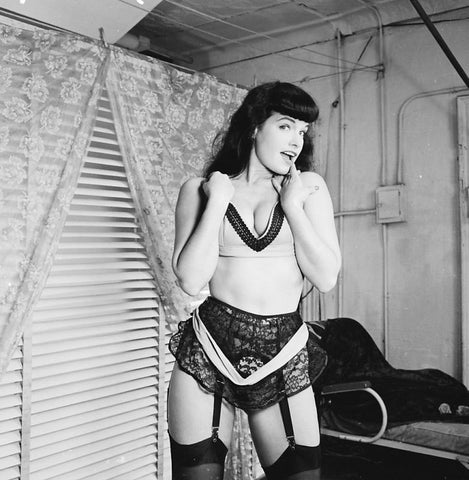 Bettie Page  B/W 8x10 Photograph